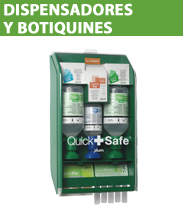 Dispensadores y botiquines