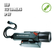 2460 STEALTHLITE RECHARGEABLE LED. Linterna manual LED recargable. Negra