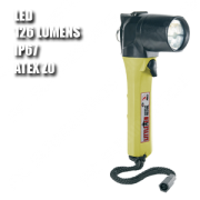 3610Z0 LITTLE ED. Linterna manual LED. ATEX. Amarilla