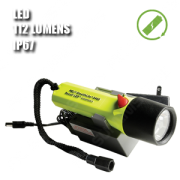 2460Z1 STEALTHLITE RECHARGEABLE. Linterna manual LED. Recargable. ATEX. Amarilla