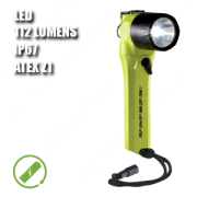 3660Z1 LITTLE ED. Linterna manual LED. Recargable. ATEX. Amarilla