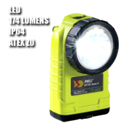 3751Z0. Linterna manual LED. ATEX. Amarilla