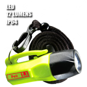 1930 L1 LED. Linterna manual LED. Amarilla