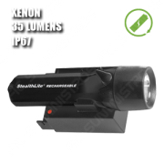 2450 STEALTHLITE RECHARGEABLE. Linterna manual XENON recargable. Negra.