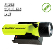 2450 STEALTHLITE RECHARGEABLE. Linterna manual XENON recargable. Amarilla.