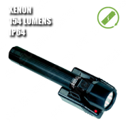 8050 M11 RECHARGEABLE. Linterna manual XENON recargable. Negra