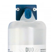 956407. Soporte genérico azul para botellas lavaojos pH Neutral DUO y 1000ml
