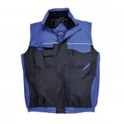 S560 RIPSTOP. Chaleco acolchado multibolsillos impermeable.