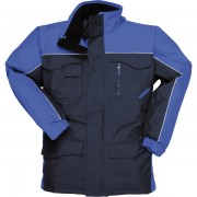 S562 RIPSTOP. Parka acolchada multibolsillos impermeable.